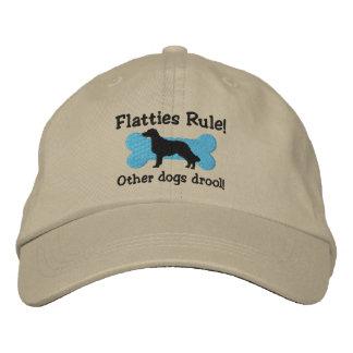 Gorra bordado regla de Flatties