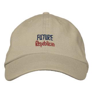 Gorra bordado republicano futuro personalizado del
