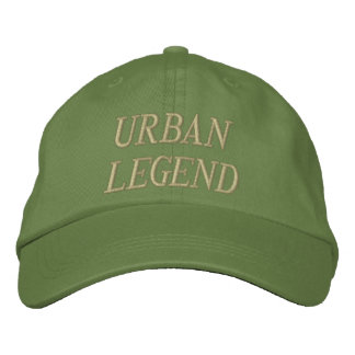 Gorra bordado urban legend gorra de béisbol