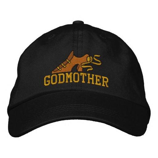 Gorra bordado zapato retro de la madrina gorra de béisbol