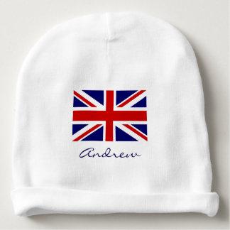 Gorra británico de la gorrita tejida del bebé de gorrito para bebe