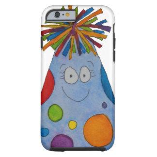 Gorra caprichoso del cumpleaños es mi regalo lindo funda para iPhone 6 tough