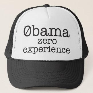 Gorra cero de la experiencia de Zerobama Obama