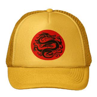 Gorra chino del sello del dragón