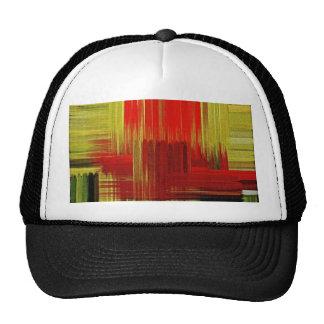 Gorra colorido del arte de la pintura