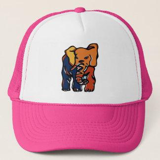"""Gorra colorido del camionero del """"elefante"""""""