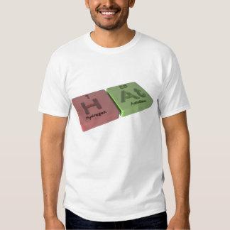 Gorra como hidrógeno de H y en el astatino Camiseta