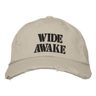 Gorra completamente despierto