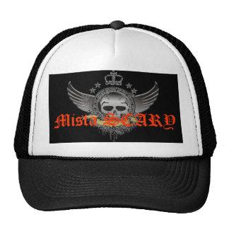 Gorra con alas ASUSTADIZO del logotipo de la coron