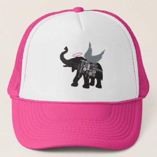 Gorra con alas del camionero del elefante