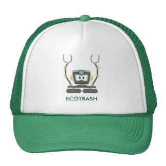 gorra con diseño ecologico, ecotrash