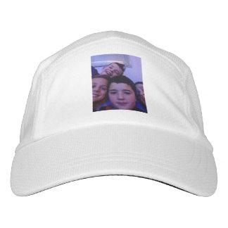 Gorra con diseño encendido