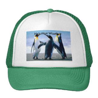 Gorra con imagen del pingüino que lucha
