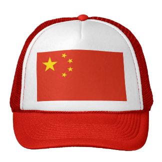 Gorra con la bandera de China