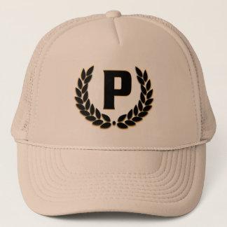Gorra con monograma