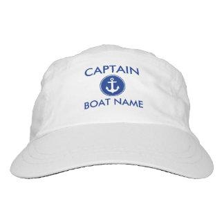 Gorra conocido de capitán Nautical Anchor Your Gorra De Alto Rendimiento