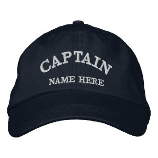 Gorra conocido del marinero de los capitanes gorra bordada