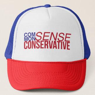 Gorra conservador del camionero del sentido común