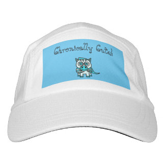 Gorra crónico lindo gorra de alto rendimiento