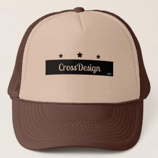 Gorra CrosDesign marrón