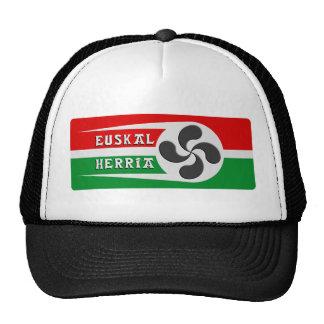 Gorra cruzado vasco
