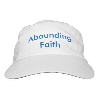 Gorra de abundancia de la fe
