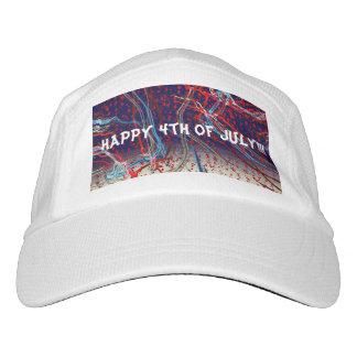 Gorra De Alto Rendimiento 4to feliz del diseño de julio