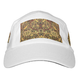 Gorra De Alto Rendimiento Arte floral de la tapicería de William Morris