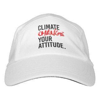 Gorra De Alto Rendimiento CAMBIO de CLIMA SU ACTITUD - - Favorable-Ciencia -