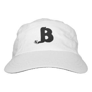 """Gorra De Alto Rendimiento Casquillo del logotipo de BEsuite240 """"B"""""""