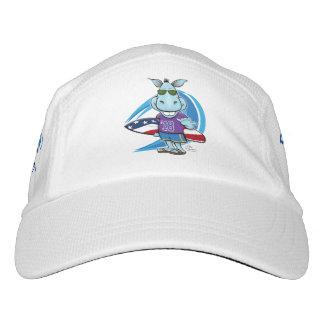 Gorra De Alto Rendimiento Casquillo trilátero de la onda azul
