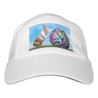 Gorra De Alto Rendimiento Conejo que empuja el huevo de Pascua - 3D rinden