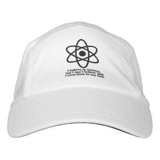 Gorra De Alto Rendimiento Creo en ciencia pero mí no puedo creer que tengo