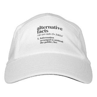 Gorra De Alto Rendimiento Definición alternativa de los hechos - la