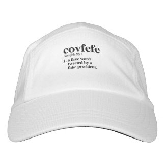 Gorra De Alto Rendimiento Definición de Covfefe - una palabra falsa