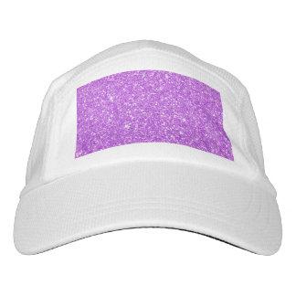 Gorra De Alto Rendimiento Diamante púrpura del brillo