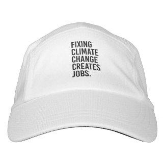 Gorra De Alto Rendimiento El cambio de clima de la fijación crea trabajos -