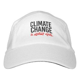 Gorra De Alto Rendimiento El CAMBIO de CLIMA ES - - la Favorable-Ciencia