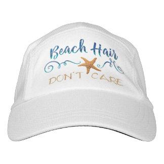 Gorra De Alto Rendimiento El pelo de la playa no cuida
