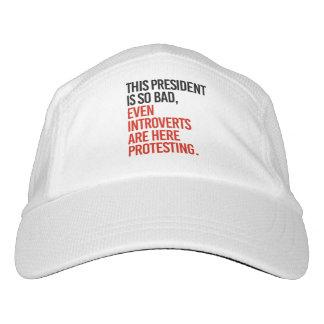 Gorra De Alto Rendimiento Este presidente es así que el malo incluso