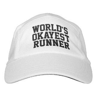 Gorra De Alto Rendimiento Funcionamiento del corredor de Okayest del mundo