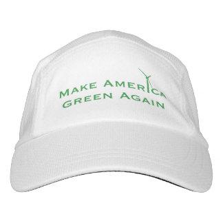 Gorra De Alto Rendimiento Haga el verde de América otra vez