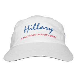 """Gorra De Alto Rendimiento """"Hillary. Un camión del Taco en cada de la esquina"""