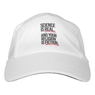 GORRA DE ALTO RENDIMIENTO LA CIENCIA ES REAL Y SU RELIGIÓN ES FICCIÓN - - P