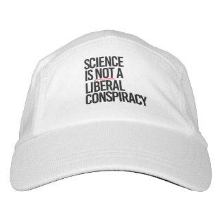 Gorra De Alto Rendimiento La CIENCIA NO ES una CONSPIRACIÓN LIBERAL - -