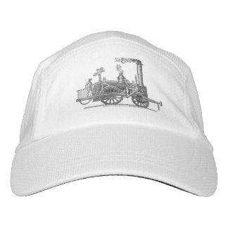Gorra De Alto Rendimiento Locomotora de vapor temprana