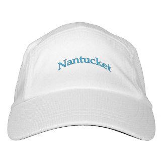 Gorra De Alto Rendimiento Logotipo del texto del arco de Nantucket
