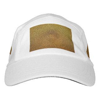 Gorra De Alto Rendimiento Modelo espiral del oro