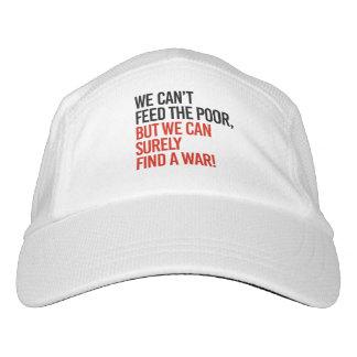Gorra De Alto Rendimiento No podemos alimentar a los pobres sino que podemos
