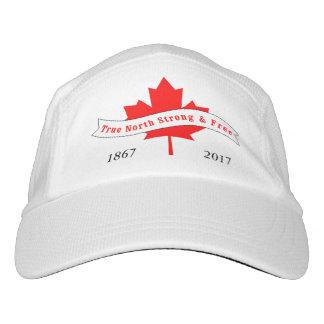 Gorra De Alto Rendimiento Norte verdadero de Canadá fuerte y libre